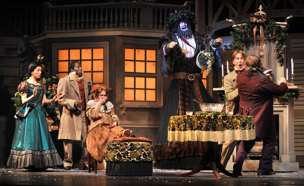 A Christmas Carol Cast.By The Numbers Kansas City Repertory Theatre S A Christmas