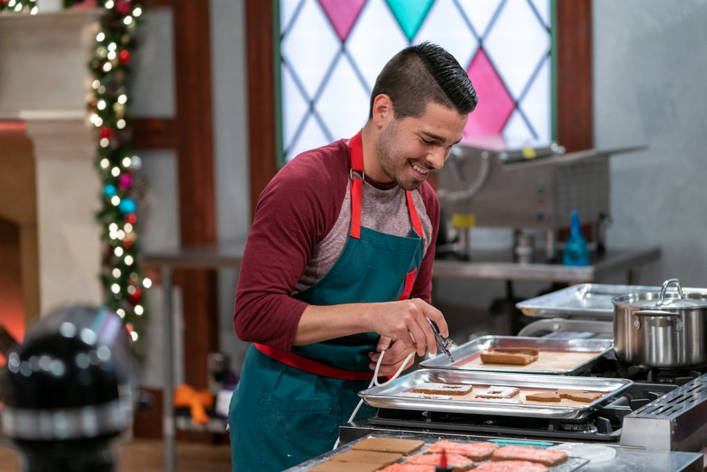 Food Network Christmas Cookies House Cookies