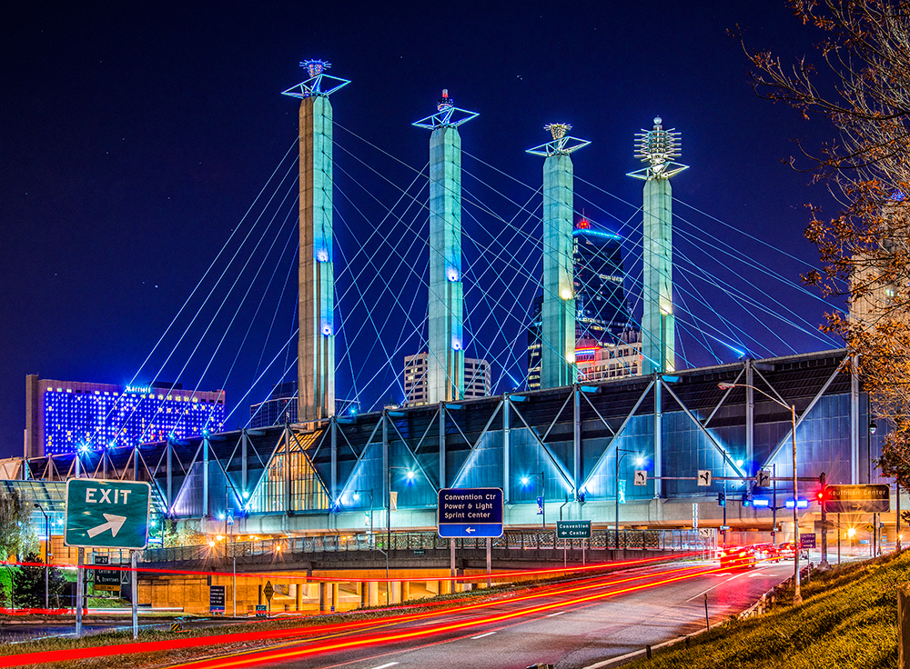 Creative Colorful Lights Define Kansas City S Downtown
