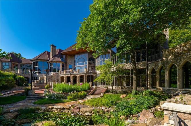 This Mega Mansion Is Back On The Market And Buzz Is Steadily Building In Kansas City